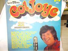 COL JOYE - THE VERY BEST - 22 GOLDEN GREATS - OZ 22 TRK VINYL LP - J&B LABEL