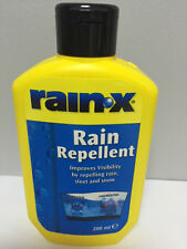 RAIN-X RAIN WATER REPELLENT WINDSCREEN WASH CLEANER GLASS TREATMENT RAINX 200ml