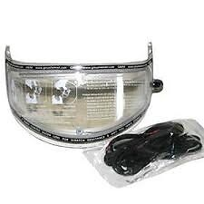 GMAX GM54S Electric Lens Helmet Face Shield - CLEAR - (G980353) 72-0896
