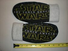 STAR WARS the FORCE AWAKENS HANDCRAFTED womens MITTENS fleece winter gloves