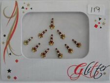 Crystal Diamante Bindi Stick On Bollywood Indian Body Tattoo Art Gem Jewel GL119