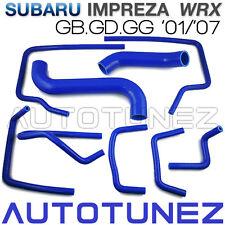 Silicone Car Radiator Hose Pipe For Subaru Impreza WRX GB GD GG 2001-2007 TU