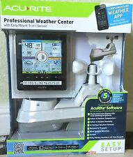 Acurite Color Wireless Professional Weather Station with PC/Phone Connect 5 in 1