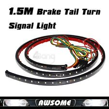 "60"" High Power 5-Function LED Strip Tailgate Bar Brake Signal Light Truck SUV"