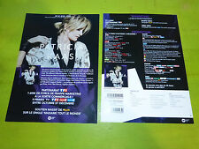 PATRICIA KAAS - NOUVEL ALBUM !!!!!!!!!T!RARE FRENCH PRESS/KIT