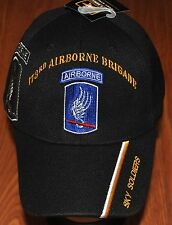 New 173rd Airborne Brigade US Army Hat Ball Cap Sky Soldiers Combat Team Veteran