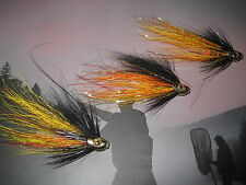 3 V Fly 1/2 Inch Ultimate Skullhead Gold Willie Gunn Salmon Tube Flies & Hooks