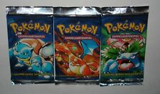 One Pokemon 1st Edition German Basic Booster Pack From Box-Sealed--1999