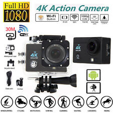 4K Ultra SJ9000 Wifi Waterproof Sport Action Camera 2.0 Inch 1080P DVR Camera