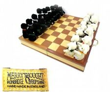 Merrythought Teddy Bears Chess Board Set White & Black Bear Very Rare