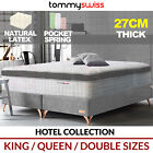 TOMMY SWISS: PREMIUM MATTRESS King Queen & Double Pocket Spring w/ Natural Latex