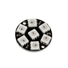 New Development Board LED Ring Round Decoration Bulb 7-Bit WS2812 5050 RGB