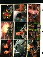 1995 SKYBOX STAR TREK VOYAGER SEASON 1 SERIES 1  Complete Trading Card Set NM