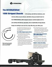 Truck Brochure - International - 1000 Stripped Chassis (T1879)