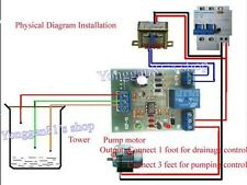 Marine Tropical Aquarium RO Water Level Controller PCB 9v-12v AC/DC FREE UK PP