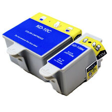 1 Set Ink Cartridges For Kodak 10 ESP 3250 5250 5210 7200 7250 9250 TJ