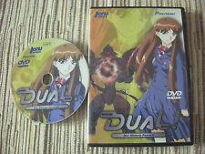 DVD SERIE ANIME DUAL! VOLUMEN 3 DE 3 CAPITULOS 11-13 USADO BUEN ESTADO
