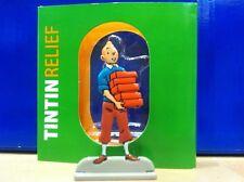 Figurine Métal Tintin aux Briques MOULINSART