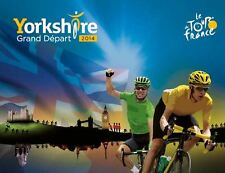 TOUR DE FRANCE YORKSHIRE GRAND DEPART  FRIDGE MAGNETS X  7  70MM X 40MM