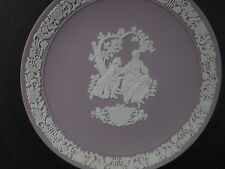 """Wedgwood 1982 VALENTINE  DAY LILAC PLATE 6 1/2"""""""