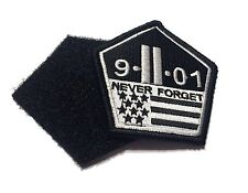 The Original 911 Remember Patch Hook/loop Morale Military Twin Towers