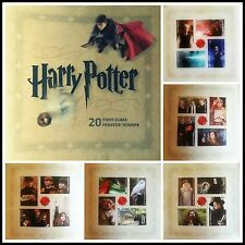 20 Harry Potter USPS Forever First Class Postage Stamps Collectors Booklet 2013