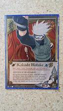 """Naruto Kakashi Hatake """"Detection of the Movement"""" - 473 - Super Rare NM"""