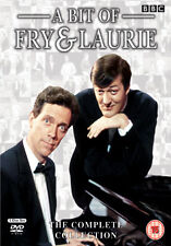 A BIT OF FRY AND LAURIE COMPLETE COLLECTION SERIES 1 - 4 BOX - DVD - REGION 2 UK
