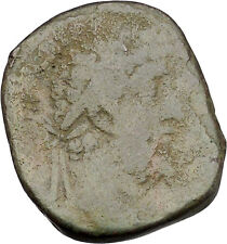 COMMODUS 183AD Sestertius Big Ancient Roman Coin Forethought Providentia  i45659