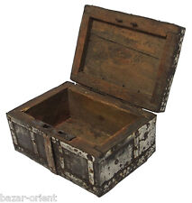 antik kiste truhe schmuckkasten Schatztruhe antique islamic trinket box 19 Jh.-E