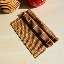 Easy Cook Tool Bamboo Sushi Rolling Roller Kitchen Hand Mat Maker Rice Paddle