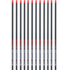 Easton Arrow Bloodline Carbon 12pk Bare Shafts 330 Spine 918779 H Nocks #18779