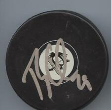 TY CONKLIN SIGNED PITTSBURGH PENGUINS HOCKEY PUCK w/ COA