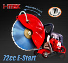 PN720 - 71cc Concrete Cut Off Demolition Saw Wet Demo Road Cutter Brick