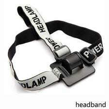 Pro Headband/Helmet Strap Mount Head Strap For LED Headlamp/Head Bike light Lamp