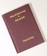 Song and Service Book for Ship and Field Army and Navy WWII 1942 Fair