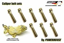 Ducati S4 Monster 2001 2002 Stainless joint bolt set Brembo front brake caliper