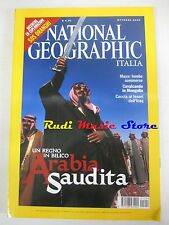 rivista NATIONAL GEOGRAPHIC VOL.12 N.4/2003 Arabia Saudita Maya Mongolia Iraq