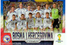 2014 World Cup Prizm Blue Red Country Team Shot No.5 BOSNA I HERCEGOVINA