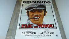 jean-paul belmondo FLIC OU VOYOU  ! affiche cinema