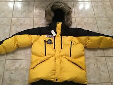 RLX Ralph Lauren Yellow Black Down Polo Expedition Parka Coat Sz 2XL New Jacket