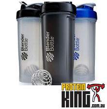 BLENDER BOTTLE PRO45 CLEAR BLUE MASSIVE 1.3 LITRE SHAKER CUP METAL BALL PRO 45