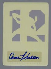 2011 Leaf Legends of Sport Oscar Robertson Auto Yellow Printing Plate #1/1