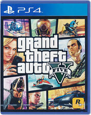 Grand Theft Auto V GTA 5 PS4 Game NEW English Portuguese Spanish Chinese French