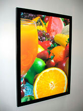 A1 SLIM LED LIGHT BOX POSTER DISPLAY -Advertising / Menu Board / Decore graphics