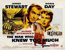THE MAN WHO KNEW TOO MUCH (DVD) MYSTERY, 1956 HITCHCOCK JAMES STEWART