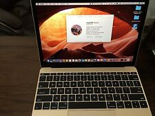 """Apple MacBook 12"""" Laptop - MK4M2LL/A (2015)-Barely USED!"""