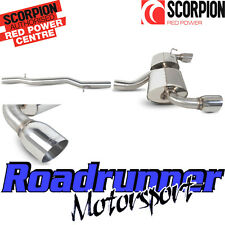 "SVWS040 Scorpion Golf MK4 R32 Exhaust System Cat Back Non Resonated Louder 4"" T"