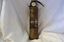Alfco Vintage Brass Aircraft Type A-20  Fire Extinguisher US Property AF Empty