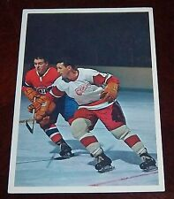 Hockey Stars in Action 1963-64 Gilles Tremblay Montreal Canadians Toronto Sun #2